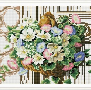 diy diamond painting with flower picture for room decoration 2015 new hot photo GZ031
