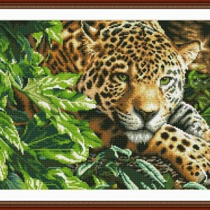animal picture Diy diamond painting by numbers 2.5mm round diamond GZ006