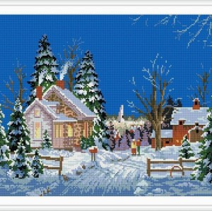 christmas design diy diamond painting for room decoration GZ029