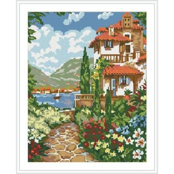 diy diamant malerei heiße foto Landschaft für Wohnzimmer dekor gz118