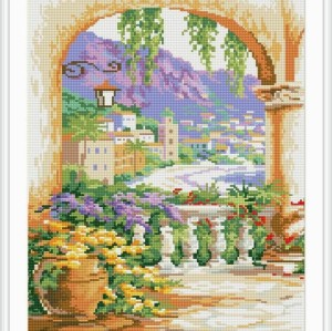 5d new hot sale diy crystal diamond mosaic painting landscape GZ057