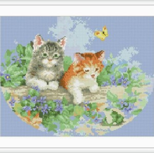 diamond painting animal cat picture yiwu factory GZ068