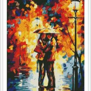 abstract diamond mosaic painting factory new hot lover photo GZ105