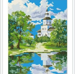 diamond mosaic painting factory new hot landscape photo GZ102
