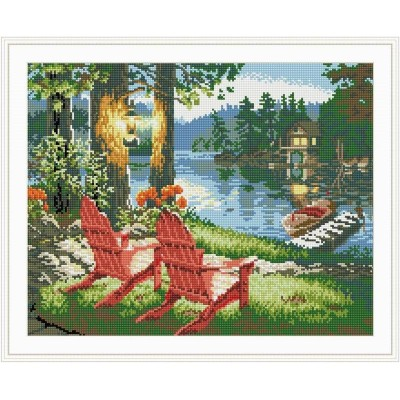 GZ039 landscape diy diamond painting for wall art
