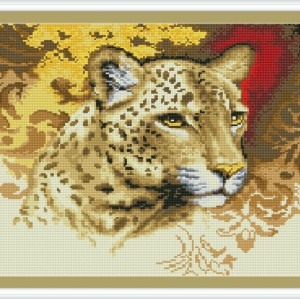 DIY diamond home canvas painting animal tiger photo GZ085