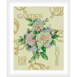 rote rose mosaik diamant malerei wohnkultur gz075