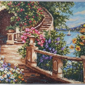 GZ093 new product landscape full diamond painting for living room decor