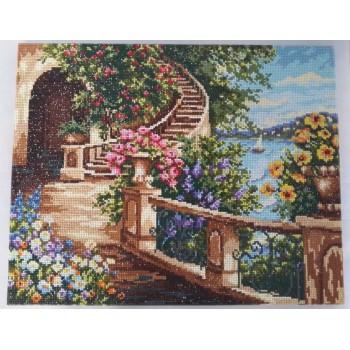gz093 neues produkt Landschaft voller diamanten malerei für wohnzimmer dekor