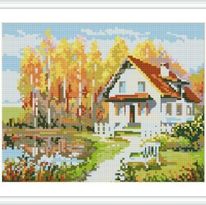 Diy diamond painting landscape hot photo for living room decor GZ113