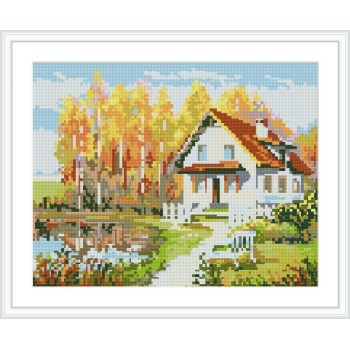 diy diamant malerei landschaft foto heiß für Wohnzimmer dekor gz113