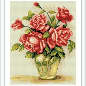 New design masterpiece good quality flower russian design DIY diamond painting