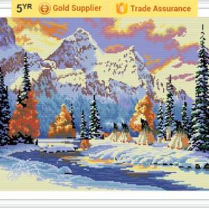 GZ174 landscape hot sale 40*50 3D diamond painting for room decor