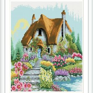 GZ185 landscape russian design paintboy DIY mosaic painting