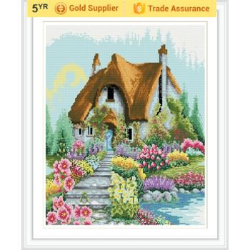 gz185 Landschaft russischer bauart paintboy diy mosaikmalerei