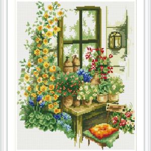 OEM GZ186 paintboy room decor beautiful window DIY diamond painting sets