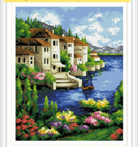 OEM GZ184 paintboy 3D diamond seascape painting by number