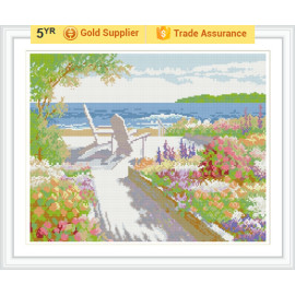 gz188 paintboy room decor Sommer seelandschaft diamant malerei Sets von Reihe