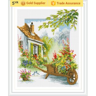 GZ187 room decor beautiful house good quality DIY mosaic painting sets