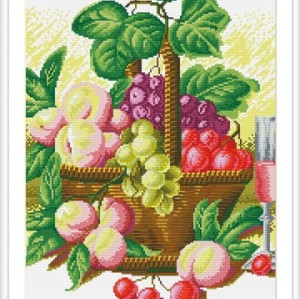GZ128 summer fruit handmade DIY 5D diamond painting sets