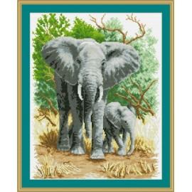 Gz131 oem paintboy Elefanten 2.5mm runde diamant malerei für hochzeitsdekor