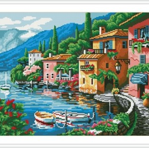 GZ129 scenery home decor DIY diamond painting mosaic