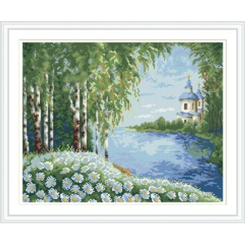 gz220 Landschaft voller muster runde diamant malerei für wohnkultur