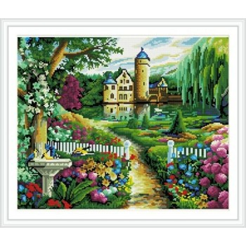 Gz227 Hot venta del bordado kit mosaico pintura regalos promocionales de pared