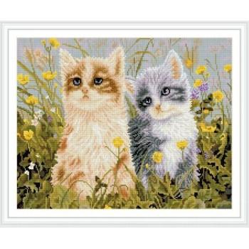 Gz252 diseño del gato bricolaje pintura diamante art para decoración de la pared