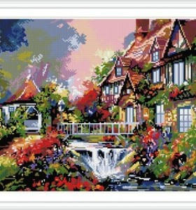 GZ239 new product handcrafts diampond painting with numbers for christmas gift