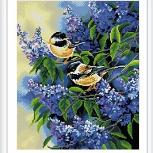 GZ248 high quality animal bird resin diamond painting of home decor