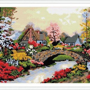 GZ249 landscape full pattern diamond painting for home decor