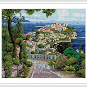 GZ263 landscape home decor cristal diamond painting