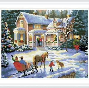 GZ276 christmas design diamond painting for gift use