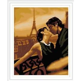 gz282 yiwu kunst lieferanten Kuss voller muster diamant malerei für die wanddekoration