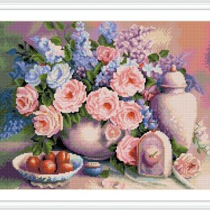GZ290 hot product resin flower diy diamond painting for home decor