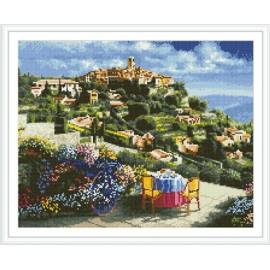 Gz293 Landschaft Stickerei-Kit diamant malerei yiwu kunst lieferanten
