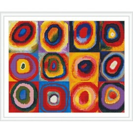 Gz297 Zuhause dekorative abstrakte Stickerei-Kit diy kristalldiamant mosaikmalerei