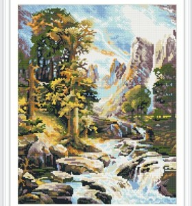 GZ29 landscape diamond embroidery kits for home decor