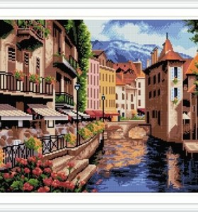 GZ231 new products landscape embroidery kit diamond painting for home decor