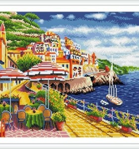 GZ243 landscape stretched canvas diamond painting for home decor