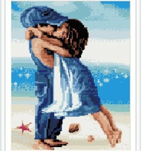 GZ247 abstract art handcrafts diamond painting for gift set
