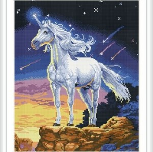 GZ251 abstract diamond painting horse picture for home decor