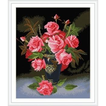 Pintura de la flor del muchacho diamante kits de bordado para sala de estar decoración GZ321