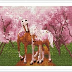 gz264 wand deko pferd diamant malerei neue produkte 2015