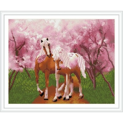 GZ264 wall decoration horse diamond painting new products 2015