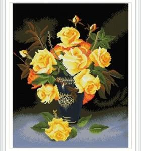 paint boy flower cheap diy art diamond painting for home decor GZ322