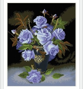 flower paint boy diamond painting for home decor GZ323