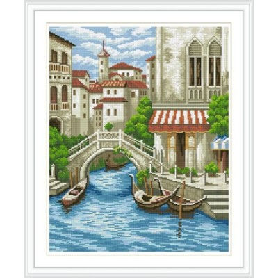 GZ277 landscape full round diamond painting for wall decoration