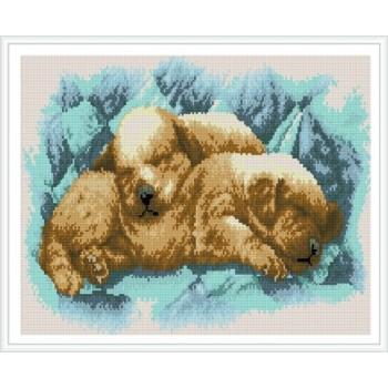 Paintboy pequeño perrito pintura diamante bricolaje by números para el arte de la pared GZ341